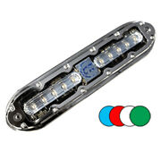 Shadow-caster Scm-10 Color Changing Led Underwater Light W/20and039 Cable - 316 Ss...
