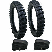 Bicycle Front Rear Tire Tube For Dirt Pit Bikes 50cc-150cc 70/100-19 90/100-16