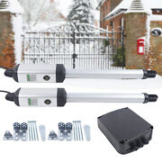 24v Automatic Dual Swing Gate Openers Dc Electric Motor For Driveway Fence Gate