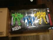 Transformers Wfc Siege Rainmakers Seekers 3-pack Exclusive In Hand Ready To Ship