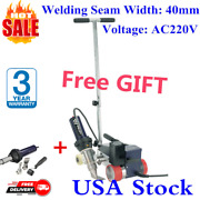 Usa 220v Rw3400 Weldy Hot Air Welder Plastic Roofers Machine 40mm Nozzle + Gift