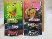 Muppets Full Set 6 Cars Real Riders Hot Wheels 164