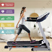 3.25hp Folding Treadmill Electric Motorized Running With Incline Fitness Machine