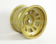 De Tomaso Mangusta Magnesium Gold Campagnolo Front Forged Wheel 10x15 New