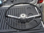 1966 Chevelle Malibu Black Steering Wheel And Horn Bar And Cap 66 Gm Oem Chevy