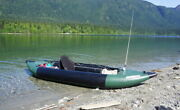 Sea Eagle 350fx Inflatable Fishing Kayak Pro Solo W/ Tall Back Seats Startup Pkg