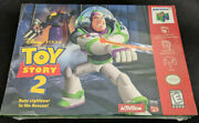 Toy Story 2 Buzz Lightyear To The Rescue N64 New In Shrink Wrap