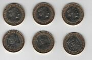 Isle Of Man - Set 3 Coins X 2 Pounds 2019 Unc Churchill - Montgomery - George Vi