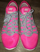 Nike Training Flex Supreme Tr3 Pink And Gray Size 10 Sneakers Shoes Ladies