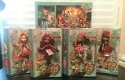 Complete Ever After High Set Hat-tastic Tea Party - In Box, Brand New, Mint.
