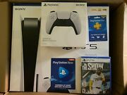 🔥ps5 Sony Playstation 5 Console Disc Version🔥brand New ✈️ Fast Same Day Ship