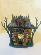 Bath And Body Works Halloween Haunted House Projector Light Up Wallflower Plug New