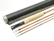 Ed M. Hunter Autograph Bamboo Fly Fishing Rod. 8 1/2and039. 3/2.