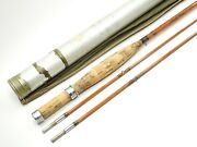 South Bend Cross Singlebuilt Model 1500 Bamboo Fly Rod. 7 1/2and039. See Description.