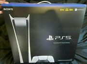 Sony Playstation 5 Digitalandnbspedition Console Brand New And Fast Shipping Ps5 Console