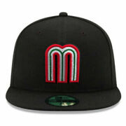 World Baseball Classic Wbc New Era 59fifty Fitted Mexico League Cap - 5950 Hat