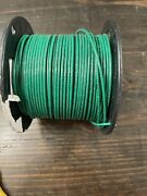 12 Awg Solid Copper Wire, Thhn, Green Lot 7-109
