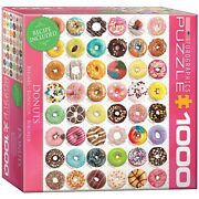 Eurographics Donuts 1000-piece Puzzle
