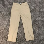 Orvis Menand039s Flat Front Most Comfortable Chino Pants Beige 34x31 Nwt