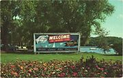 Welcome To Winona Lake Home Of Worldand039s Greatest Bible Conference Ind Postcard