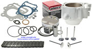 Yamaha Yz450f Wiseco Top End Rebuild Kit With Cylinder 2010 - 2013