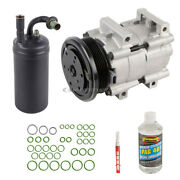 For Ford Escort 4-door 1997-2002 Ac Compressor And A/c Repair Kit Tcp