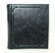 Album For Coins Green, Leather Cover, 20 Double-sided Pages, Collection Storage