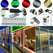 Us Brightest Front Window Led Light Module Sign Lamp With Power Supply + Remote