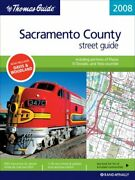Thomas Guide 2008 Sacramento County California Street By Not Available New