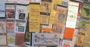 Tucson Arizona Lot Of 92 Different Matchbook Matchcovers See All Scans -f