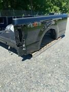 2020 Ford Pickup F350 New Takeoff Oem 8ft Truck Bed/box W/o Lights And Gate Black