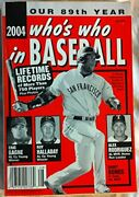 Who's Who In Baseball 2004 By Norman Maclean Mint Condition