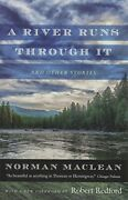 A River Runs Through It And Other Stories By Norman Maclean - Hardcover Vg+