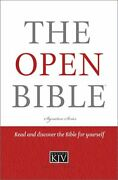 Open Bible Signature By Thomas Nelson - Hardcover Excellent Condition
