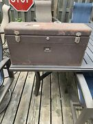 """Vintage Kennedy No. 526 Machinist Toolbox Tool Box Chest With Key Usa 26"""""""