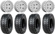 Black Rhino Parker Bdlk 15 Wheels Si 35 Chicane Rs Tires Can-am Defender