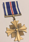 Authentic 1960andrsquos Usaf Us Air Force Distinguished Flying Cross Medal Lordship