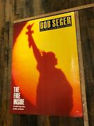 Vintage Poster Bob Seger And The Silver Bullet Band The Fire Inside Promo