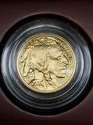 2008-w Gold American Buffalo Proof 5 Coin In Box With Coa
