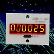 New 110v 6 Digits Display Electronic 10 Times/second Durable High Quality