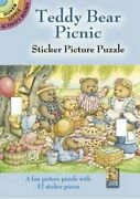 Teddy Bear Picnic Sticker Picture Puzzle Dover Little By Darcy May