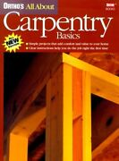 Ortho's All About Carpentry Basics Ortho's All About Home By Ortho Books Mint