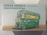 Vintage Scale Tower Models 176 Oo London Transport Country Rt Bus Model Kit