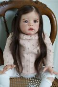 Rare Sold Out Limited Edition Reborn Baby Toddler Doll Wilma By Karola Wegerich