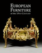 European Furniture Of 19th Century By Christopher Payne - Hardcover Brand New