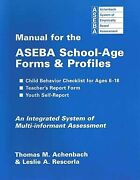 Manual For Aseba School-age Forms And Profiles By Thomas M. Achenback And Leslie A.
