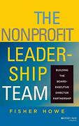 Nonprofit Leadership Team Building Board-executive By Fisher Howe - Hardcover