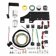 Front Air Ride Shock Lowering Kit Mount Fit For Harley Touring Road King 14-21