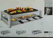 Princess Combi Chef Appareil A Raclette / Grill / Barbecue / Plancha