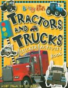 Busy Kids Tractors And Trucks Sticker Activity Book Busy By Chris Scollen New